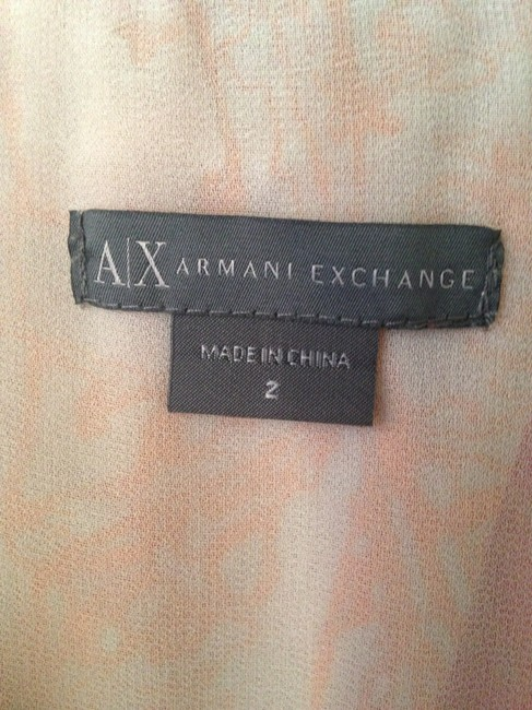 A|X Armani Exchange short dress Print Sleeveless A-line Flowy on Tradesy Image 3