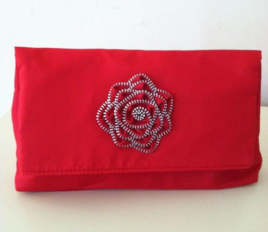 Other Lancome Red Zipper Rose CLUTCH BAG Collection GIFT Set - 7 pcs