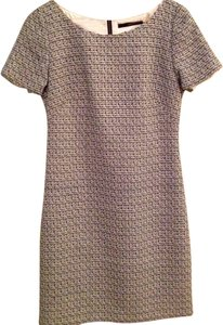 Tahari Tweed Work Shift Dress