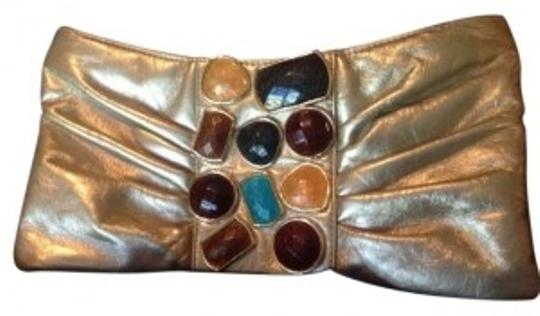 Preload https://item5.tradesy.com/images/jessica-mcclintock-gold-leather-clutch-175809-0-0.jpg?width=440&height=440