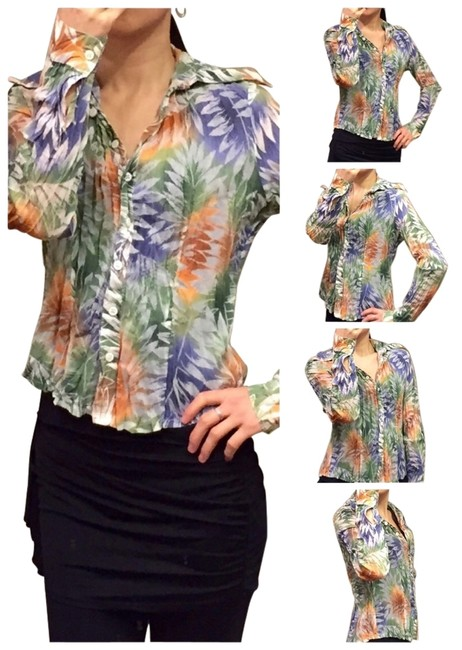 Preload https://item3.tradesy.com/images/tropical-print-wrinkled-blouse-size-2-xs-1758122-0-0.jpg?width=400&height=650
