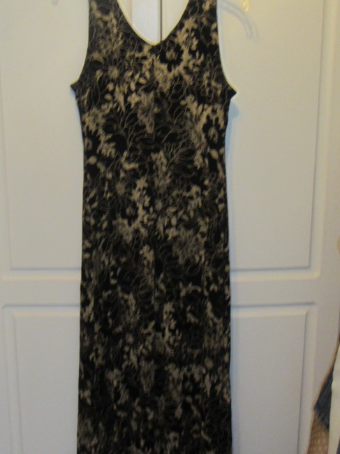 Coldwater Creek short dress black with gold floral print on Tradesy Image 4
