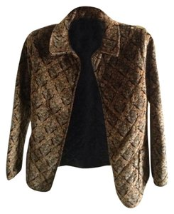 Supply & Demand Brown Paisley Blazer