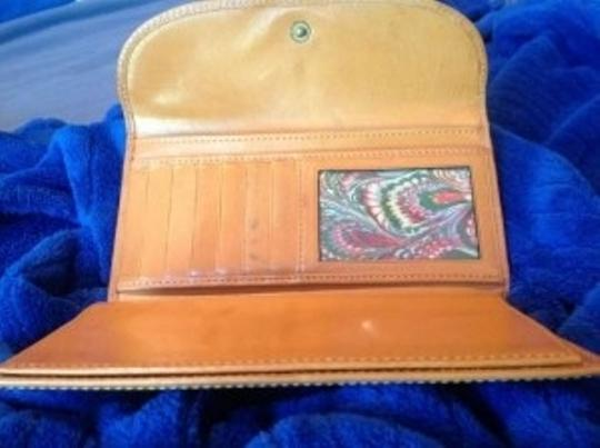 Dooney & Bourke Leather Tan Clutch