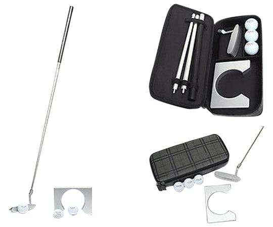 Coach COACH TATTERSALL GOLF PUTTER SET F66058: MSRP $398