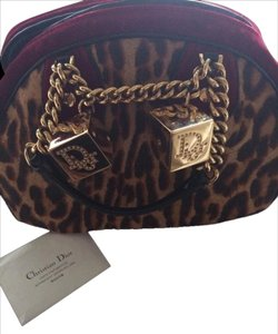 Dior Satchel in Leopard