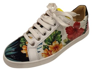 Christian Louboutin Patent Leather Multi Athletic