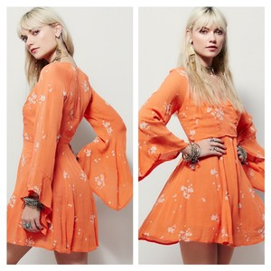 Free People short dress Papaya combo on Tradesy