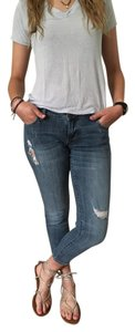 STS Blue Denim Distressed Skinny Jeans-Distressed