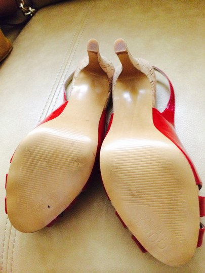 Guess Red Sandals