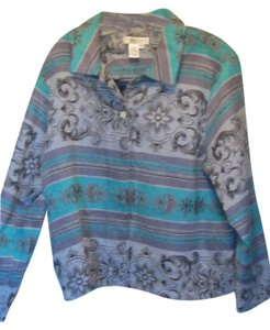 Coldwater Creek turquois multi Jacket