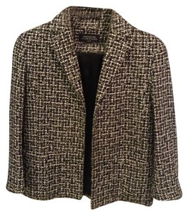 Jones New York Black & White Blazer