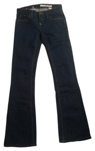 DKNY Boot Cut Jeans-Dark Rinse