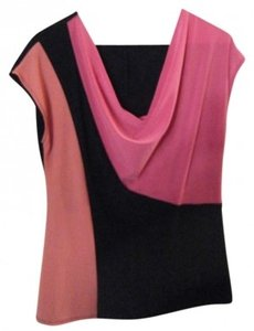 Annalee + Hope Top Black, Fushia, Salmon