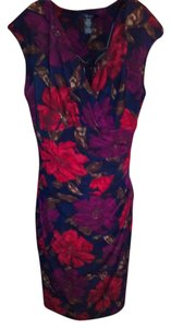 Chaps short dress Floral on Tradesy