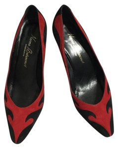 Norma Betancourt Black & Red Pumps