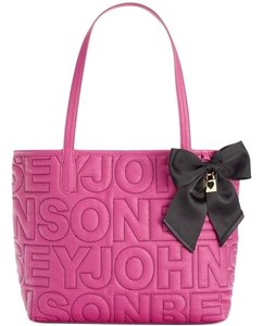 Betsey Johnson Medium Tote in fuchsia