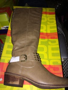 Bare Traps Studded Chunky Casual Winter khaki Boots