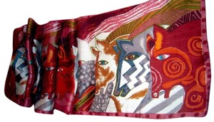 Unknown 100% silk horse scarf free shipping