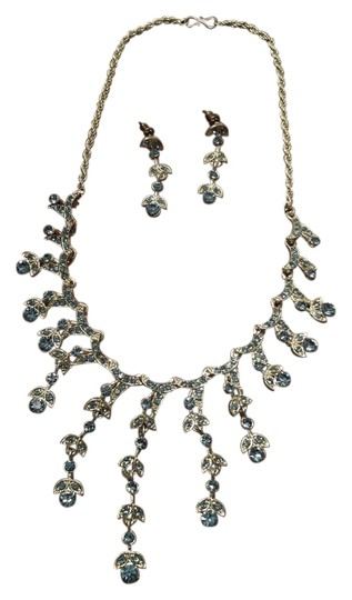 Other Silver necklace and earrings set