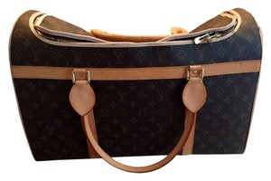 Louis Vuitton Louie Vuitton Large Dog Carrier