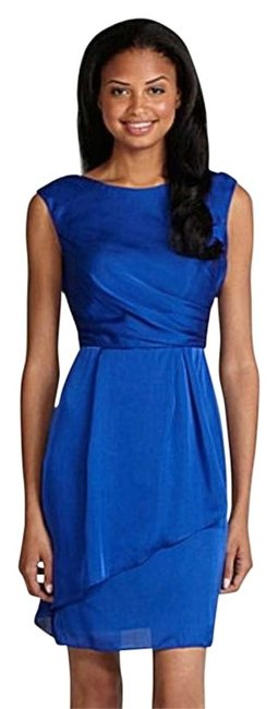 Preload https://item1.tradesy.com/images/vince-camuto-blue-knee-length-cocktail-dress-size-14-l-175955-0-0.jpg?width=400&height=650