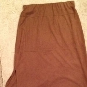 Max Studio Skirt Brown/tan