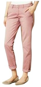 Anthropologie Khaki/Chino Pants Pink