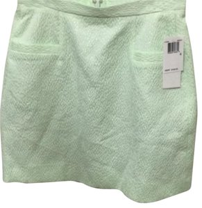 French Connection Skirt Light mint green/silver blend
