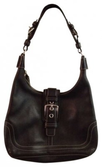 Coach Hobo Leather Shoulder Bag