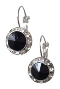 Other NWOT Black and silver toned earrings