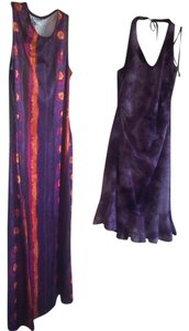 Purple Maxi Dress by City Triangles