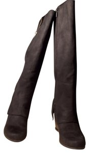 Rampage Hipster Cool Faux Suede Punk Boho Metro Black Boots