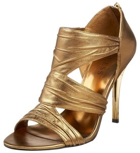 Guess Sandal Stiletto Bronze leather Sandals