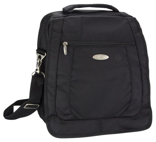 HSU Concepts Messenger Laptop Backpack Black Messenger Messenger Bag