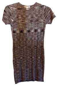 Mendocino short dress woven browns, tan and maroon on Tradesy