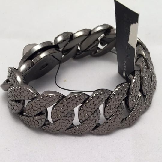 Marc by Marc Jacobs Marc By Marc Jacobs Lizard Textured Metal Katie Turnlock Bracelet