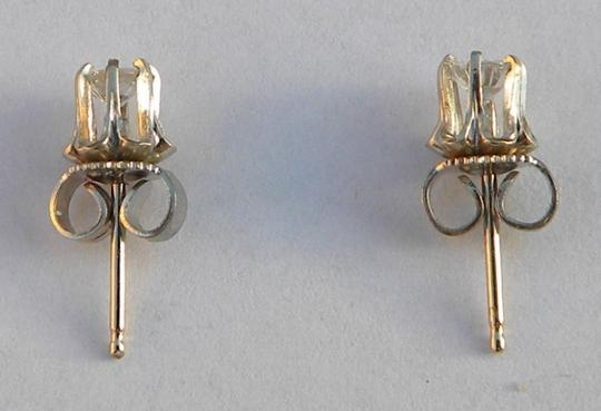 Vintage Vintage 14K White Gold 0.3ct Diamond Stud Earrings