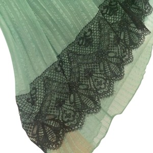 Christian Lacroix Lace Skirt Green