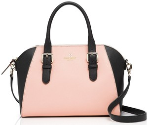 Kate Spade New York Satchel in Soft Rosetta / Black