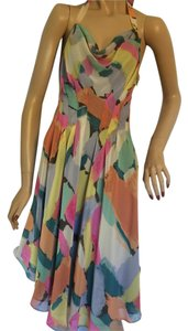 Rachel Roy short dress Peach, yellow, rose, green, gray brown, melon on Tradesy