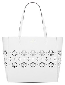 Kate Spade Faye Drive Hallie Satchel Tote in White