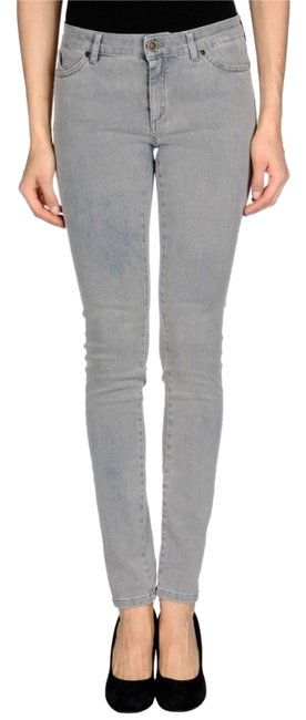 Superfine Skinny Jeans-Light Wash