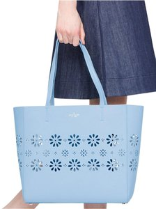 Kate Spade Satchel Cute Blue Cutout Tote in Sky Blue