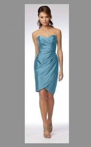 Wtoo Atlantic Shantung 953 Formal Bridesmaid/Mob Dress Size 8 (M)