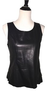 DL1961 Leather Top Black