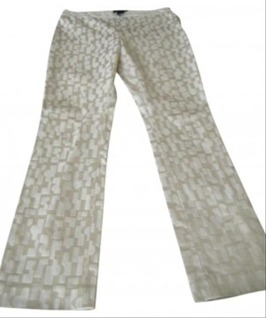 Kenneth Cole Straight Pants Ivory/Cream