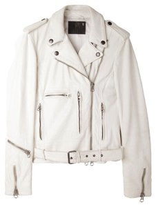 R13 Acne Studios Acne Studios Allsaints White/Cream Leather Jacket