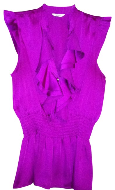 Preload https://item4.tradesy.com/images/candie-s-fuscia-blouse-size-petite-8-m-176063-0-0.jpg?width=400&height=650