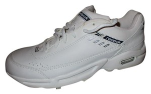 Reebok Leather Hexalite Running Walking Jogging white Athletic